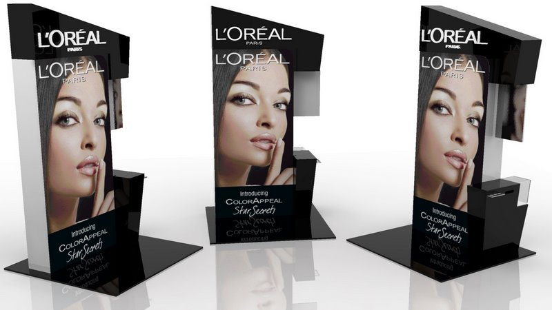 L'Oreal Paris counter design