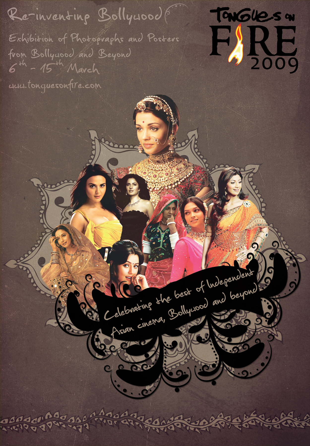 Re-inventing Bollywood poster
