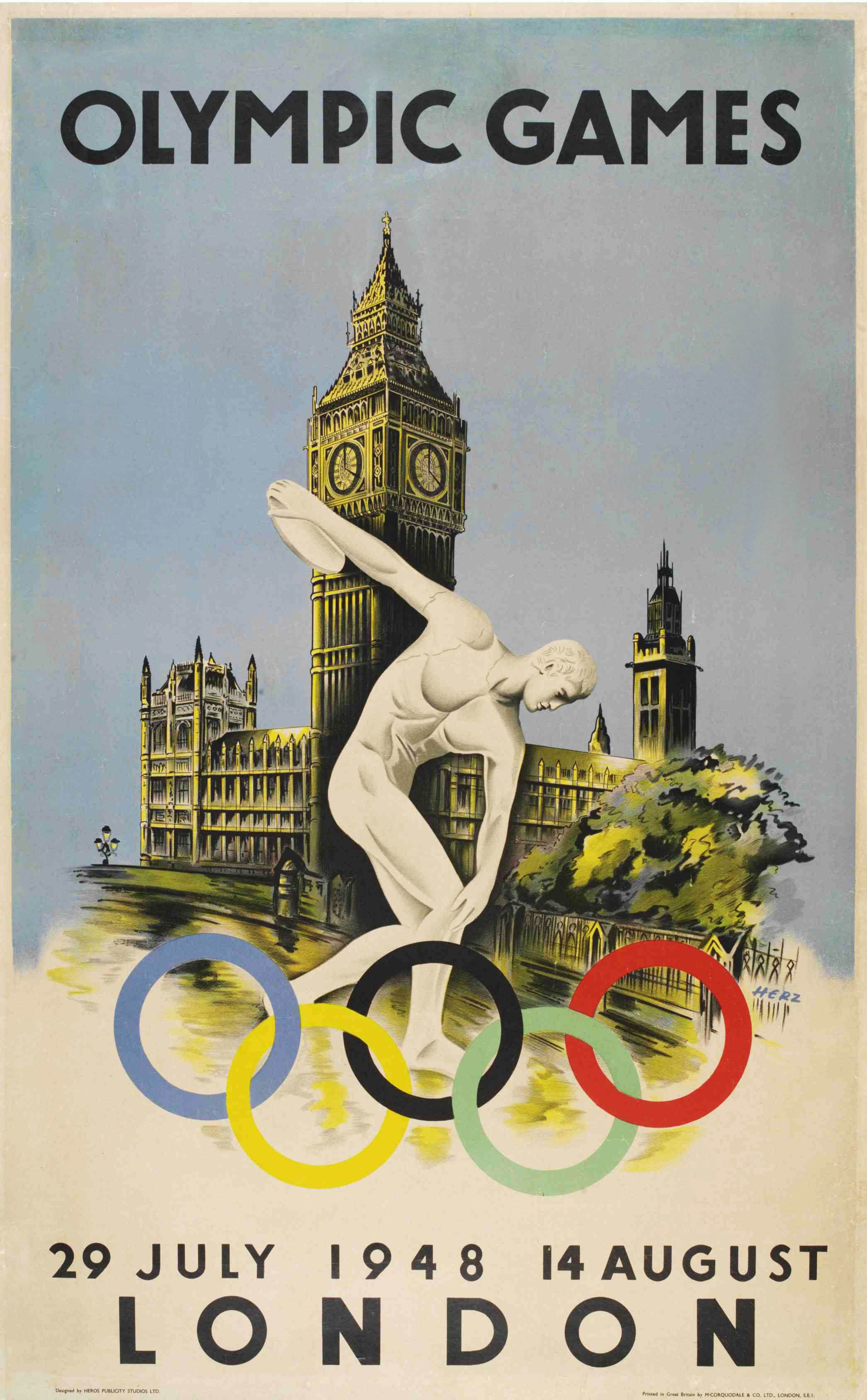 london olympics posters from 1908, 1948 and 2012