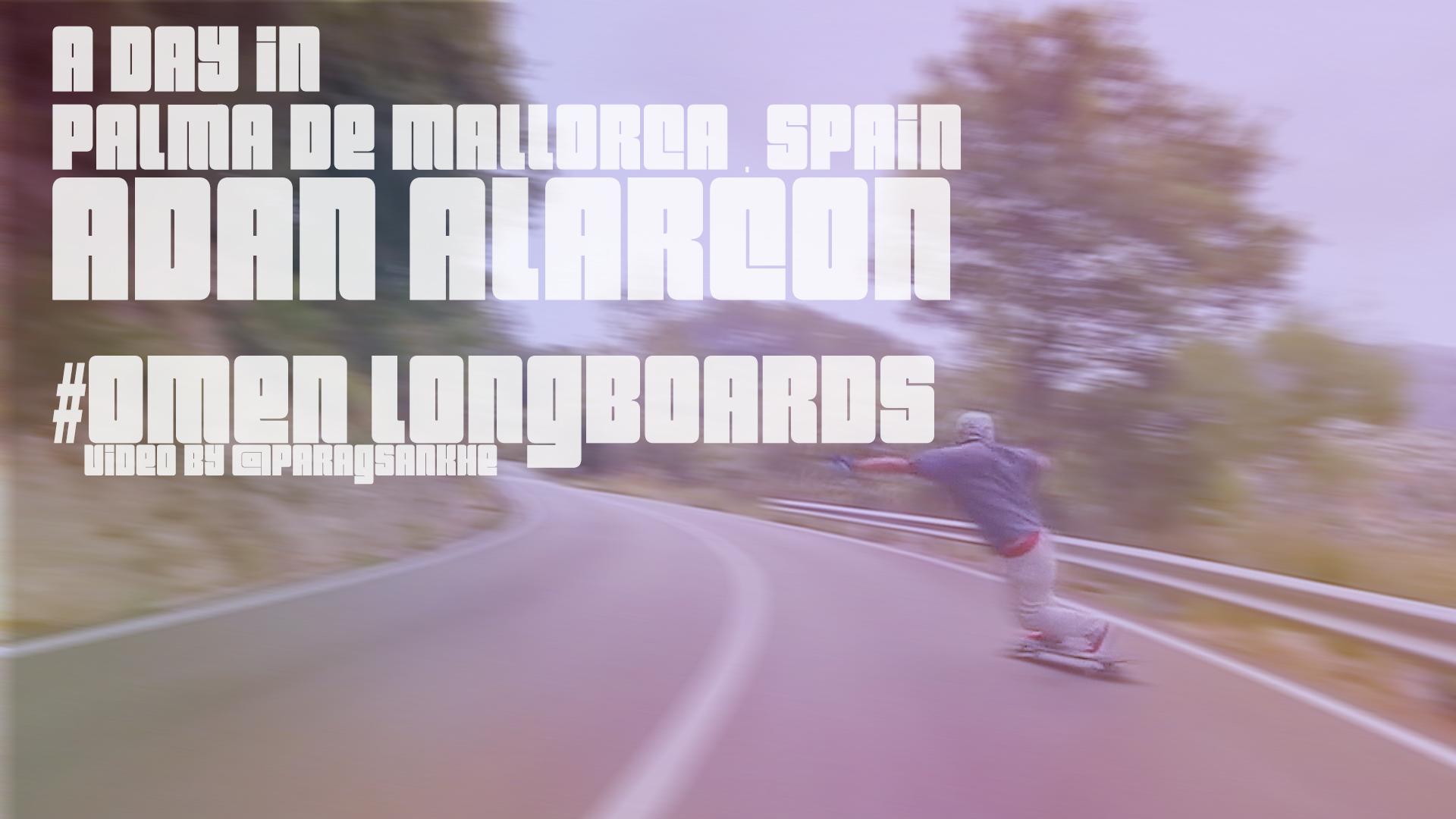 Longboard skateboarding / Adan Alarcon / Omen Longboards