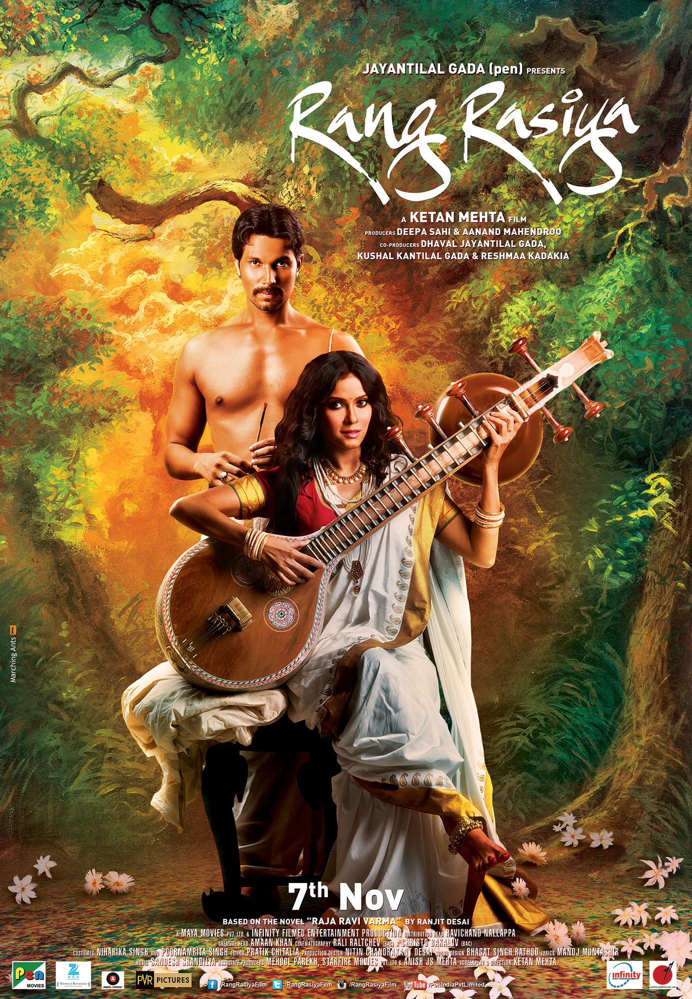 Rang Rasiya: A movie about father of modern Indian art Raja Ravi Varma