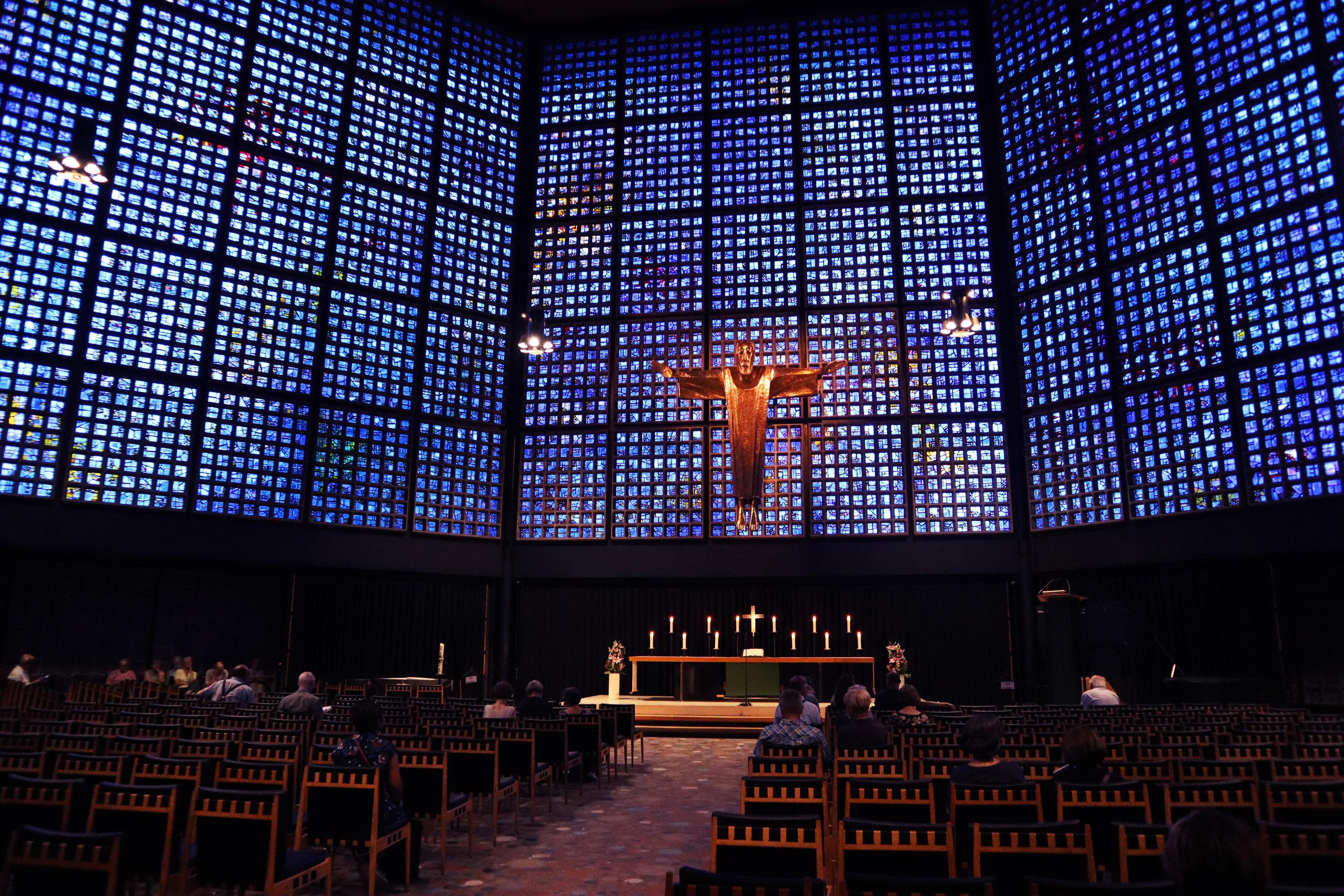 Kaiser Wilhelm memorial church, Berlin